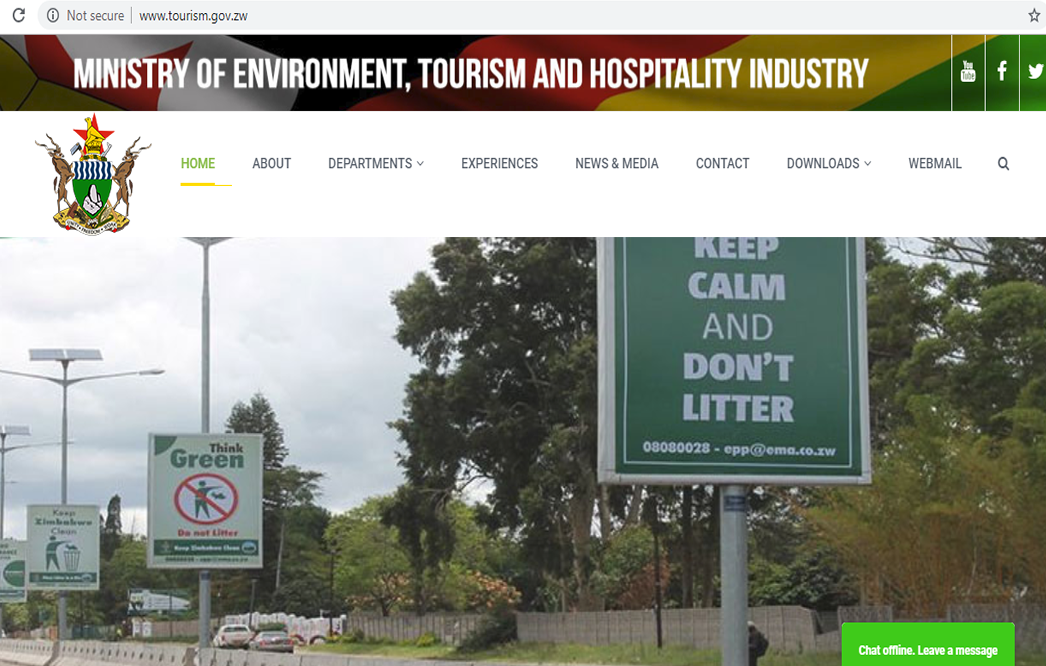 Ministry of Environment, Tourism and Hospitality  Industry